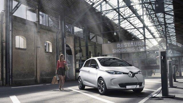 Renault ZOE - bateria y carga