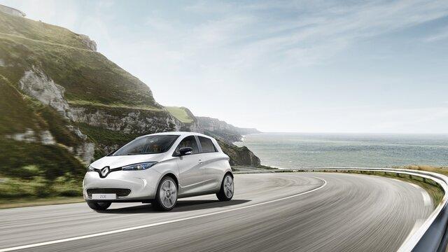 Renault ZOE - Rango de conducción y carga