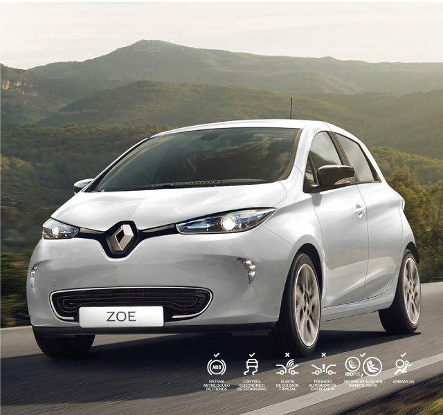 Renault ZOE - batería y recarga