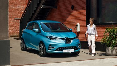 Renault ZOE - exterior recarga