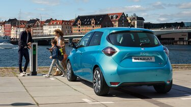 Renault ZOE - exterior mar