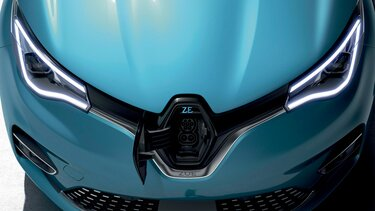 Renault ZOE frontal carga