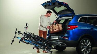 Nový Renault KADJAR – nosič jízdních kol na tažné zařízení
