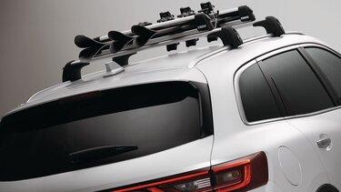 Renault CAPTUR - nosič lyží (4 páry) nebo snowboardu (1 prkno)