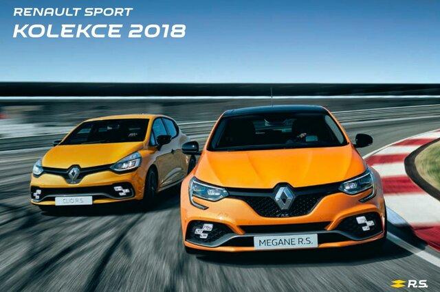 prislusenstvi a kolekce Renault