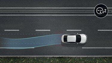 Varování při detekci únavy řidiče