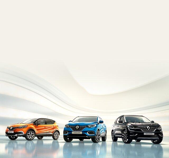 SUV značky Renault