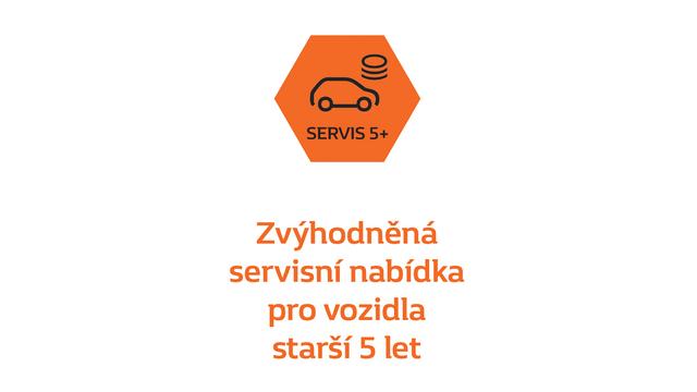Nová servisní nabídka