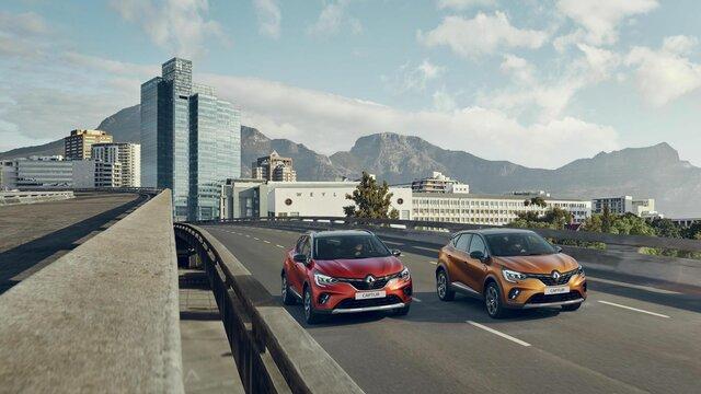 Nabídka vozů Renault CAPTUR