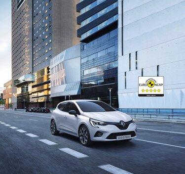 Vnější vzhled hybridního městského vozu CLIO