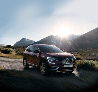 Nové rodinné SUV Renault KOLEOS 4x4