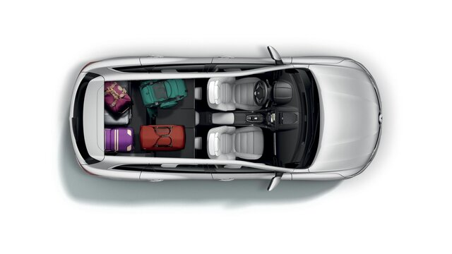 Zavazadlový prostor vozu Renault KOLEOS