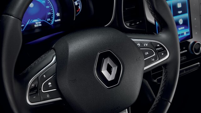 Kožený interiér vozu MEGANE Sedan