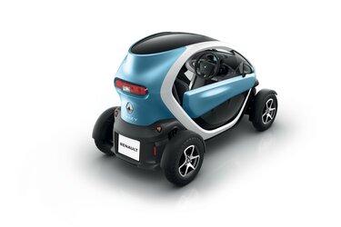Pravá strana vozu Renault TWIZY