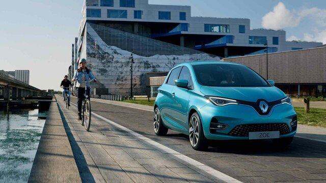 Elektrický městský vůz Renault ZOE