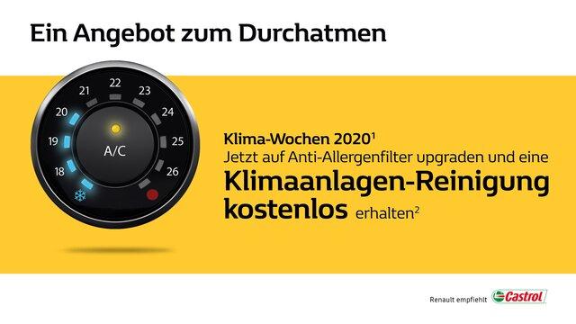 Renault Klimawochen 2020