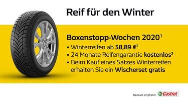 Renault Boxenstopp-Wochen 2020