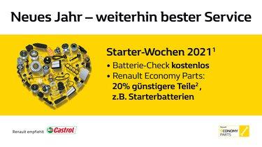 Die neuen Renault Starterwochen 2021