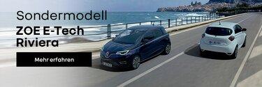 Renault ZOE E-Tech Riviera - Die Sonne auf Ihrer Seite