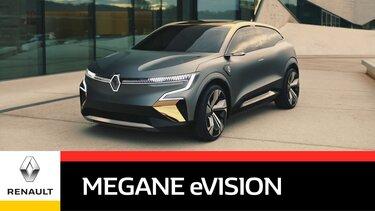 Der neue Renault Mégane eVision Showcar