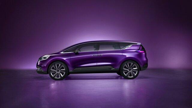 Renault Initiale Paris Concept Car Seitenansicht