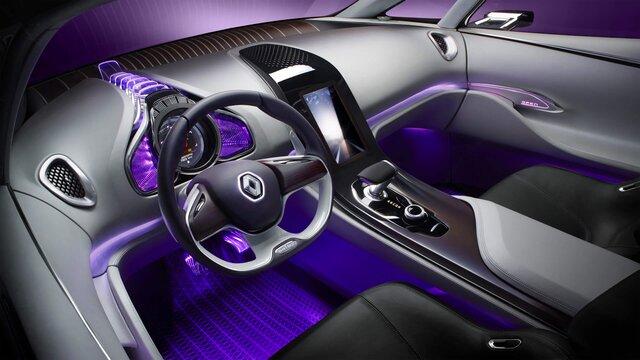 Renault Initiale Paris Concept Car Innenraumansicht