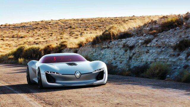 Frontansicht Renault TREZOR Concept Car