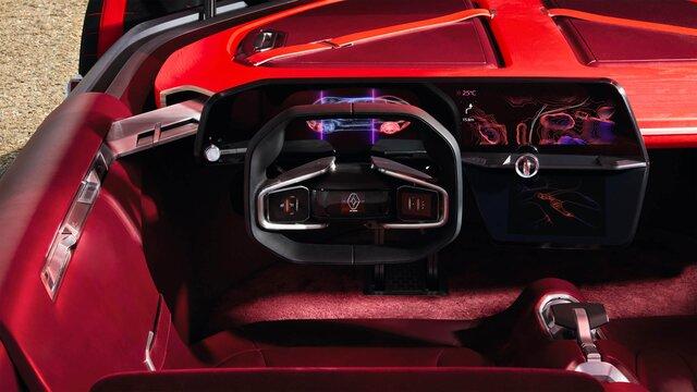 Renault TREZOR Concept Car Innenraum Ansicht