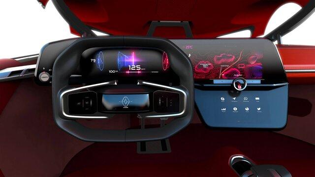 Renault TREZOR Concept Car Cockpit