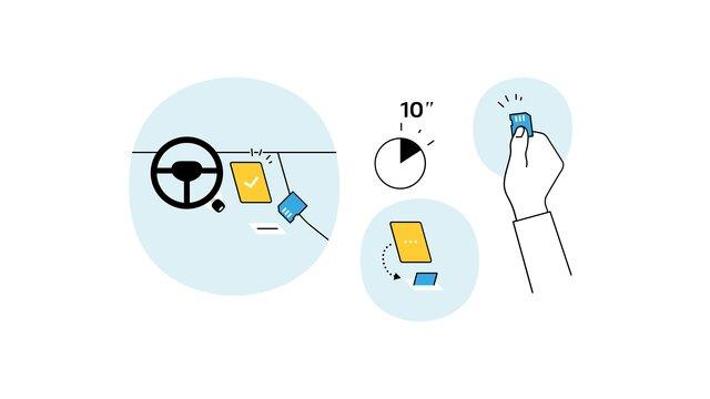 R-LINK-Evolution - SD Karte aus dem Fahrzeug entfernen