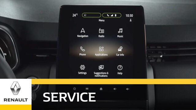 Renault Easy Connect - Vernetzte Services