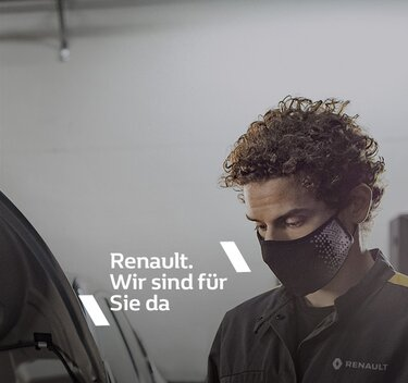 Die Renault Händler sind für Sie da. Auch im Lockdown.