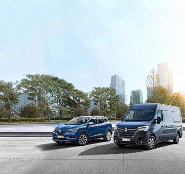 Renault Talisman und Renault Master
