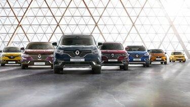 Die Renault Range