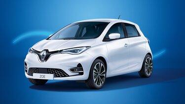 Renault ZOE in weiß
