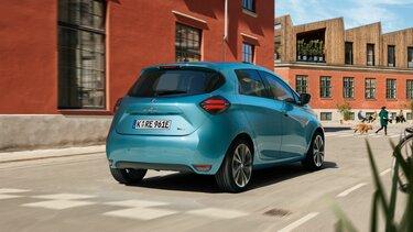 Renault ZOE blaues Heck