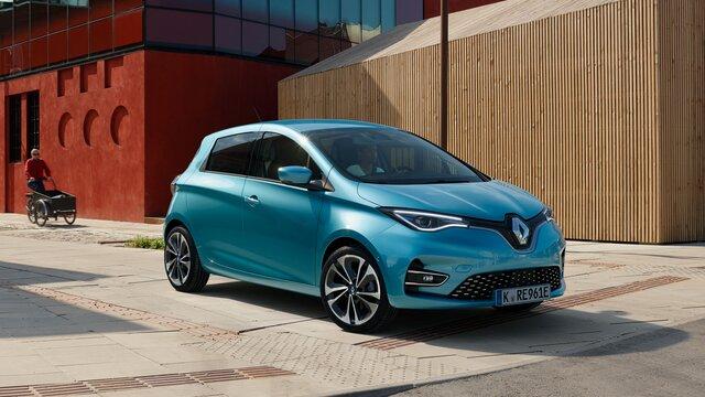 Renault ZOE in der Stadt