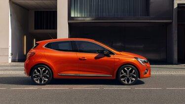 Renault Clio Zweitürer in taklamakan orange