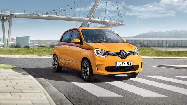Renault TWINGO auf der Straße