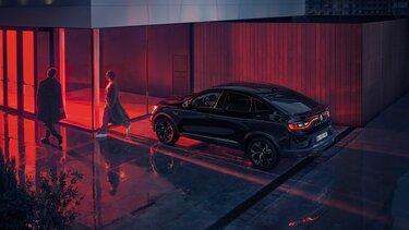 Arkana Crossover - Außendesign Heckansicht - Renault