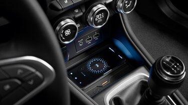 Kontaktloses Laden von Smartphones im Renault Captur Plug-in Hybrid
