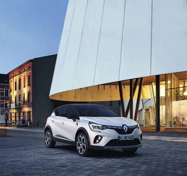 Der Renault CAPTUR Plug-in Hybrid - wiederaufladbarer Hybrid-SUV