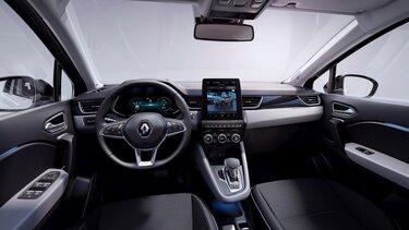 Das Cockpit des Renault Captur Plug-in Hybrid