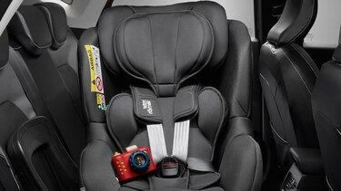 Renault Captur Kindersitz