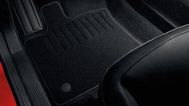 Renault Captur Premium-Textilfußmatten