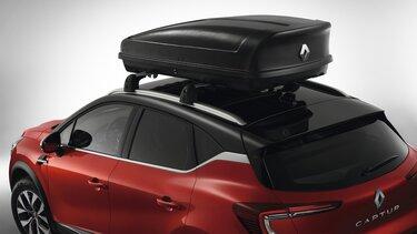 Praktische Dachbox für den Renault Captur
