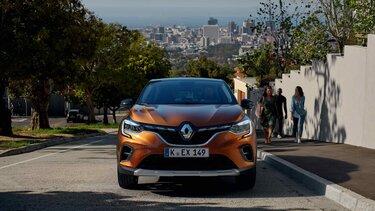 CAPTUR in Orange– SUV-Frontpartie