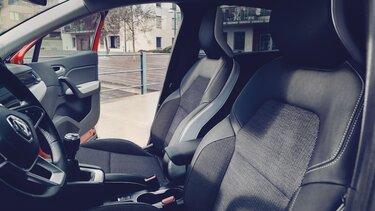 Renault Captur in Orange– Innenraum
