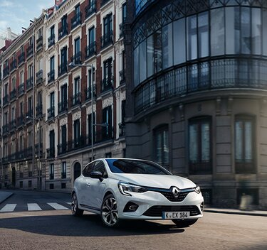 Clio E-Tech Hybrid Stadtauto Außendesign