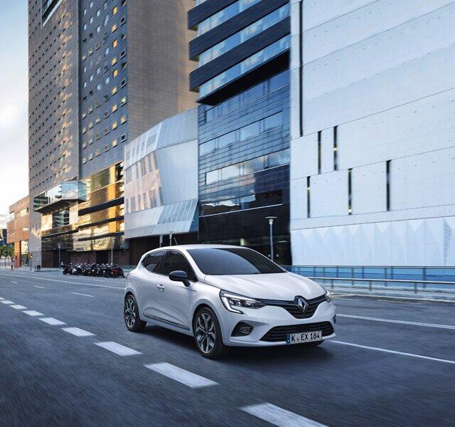CLIO Hybrid Stadtauto Außendesign